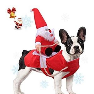 Other - Size XL Christmas pet dog costume outfit santa